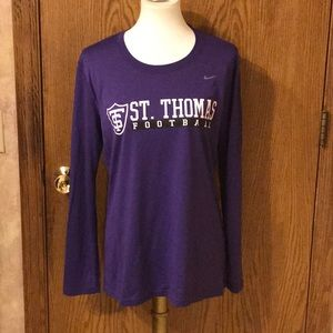 Nike Dri-Fit Womens U of St.Thomas Football Jersey